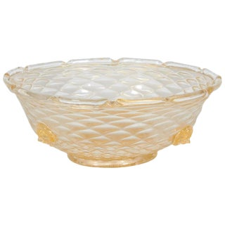 Barovier and Toso Cordonato d'Orso Bowl