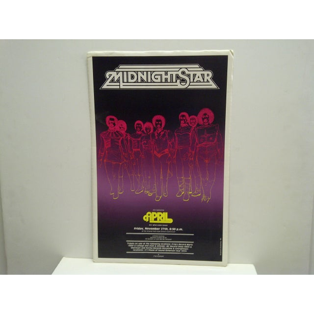 1981 Midnight Star Concert Poster - Image 2 of 4