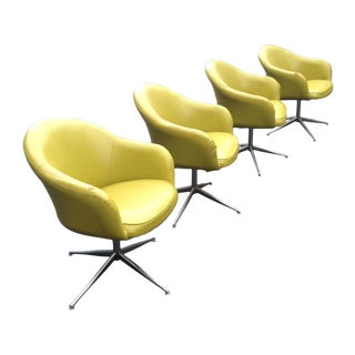 Mid-Century Overman Pod Chairs by Viko - Set of 4