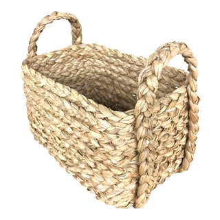 Seagrass Rectangular Multipurpose Storage Basket