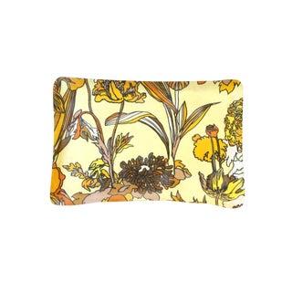 Mid-Century Vintage Floral Plastic Serving Tray