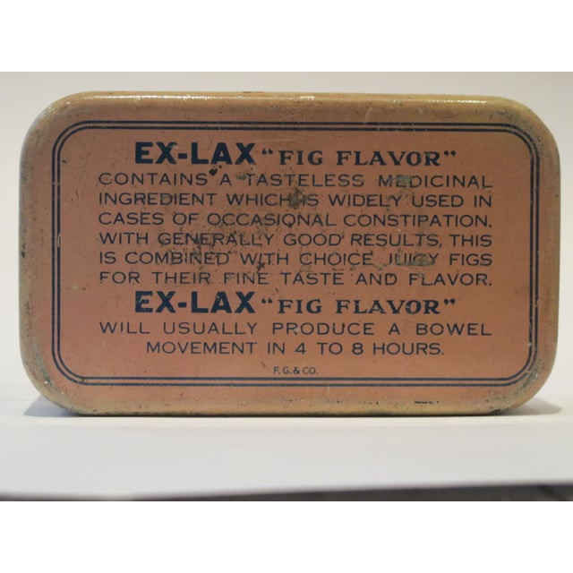 Vintage Ex Lax Tobacco Tin - Image 4 of 5