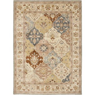 """Oushak Hand Knotted Area Rug - 5'0"""" X 6'9"""""""