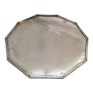 Reed & Barton Engraved Silverplate Platter