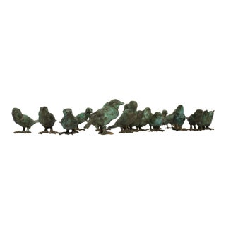 Ilana Goor Bronze Sculpture Freestanding Birds