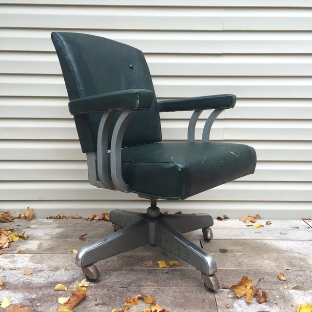 Image of Atomic Era Industrial Office Chair by Steelcase