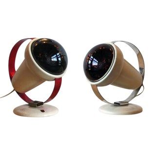 Philips Infraphil Heat Lamps - a Pair