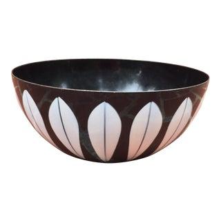 Cathrineholm Lotus Black & White Bowl