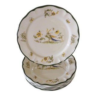 French Varages Plates - Set of 6