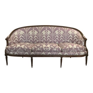 Louis XVI Style Three Seat Sofa