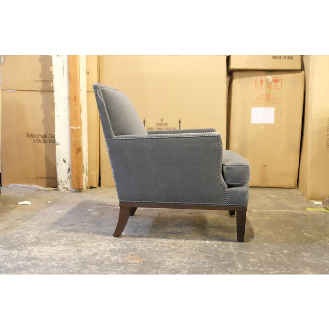 Contemporary Custom Club Chairs - A Pair - Image 3 of 7