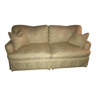 Beige Sherrill Couches - A Pair