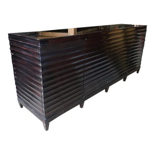 Barbara Barry Fluted Low Cabinet