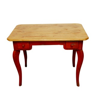 Farmhouse Colle Distressed French Writing Table