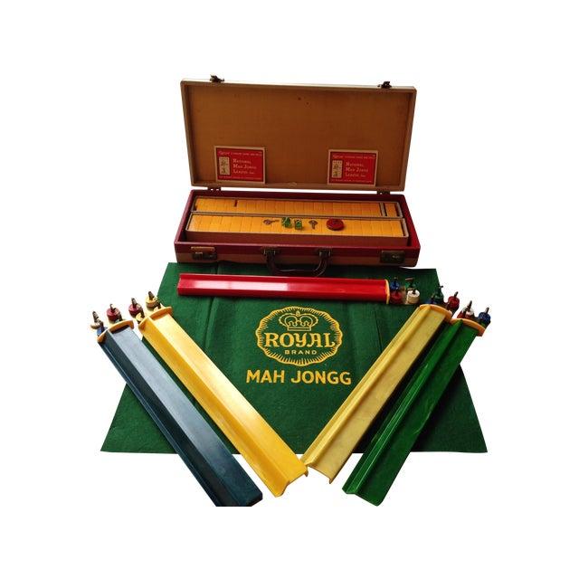 Image of Vintage 1950s Royal Mahjong Game Set