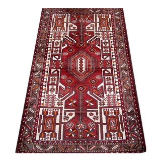 High Quality Vintage Mission Malayer Carpet - 4″ × 7″