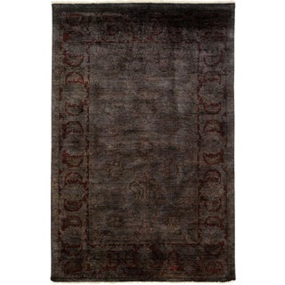 "Vibrance Hand Knotted Area Rug - 5' 10"" X 8' 9"""