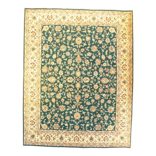 Tabriz Hand-Knotted Rug - 8′ × 10′4″