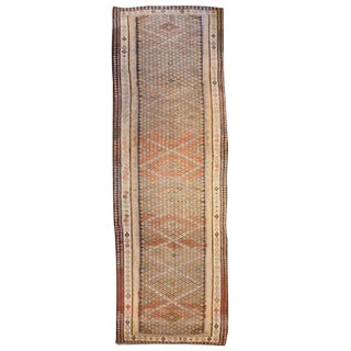Exquisite Qazvin Kilim Runner
