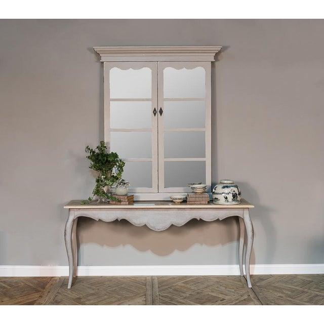 Sarreid Ltd. Adriana French Window Mirror - Image 2 of 5