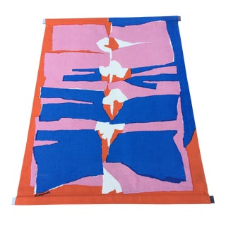 Colorful Mid-Century Wallhanging by Gaynor