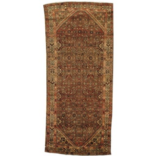 "Pasargad N Y Antique Persian Hamadan Rug - 4'3"" X 9'9"""