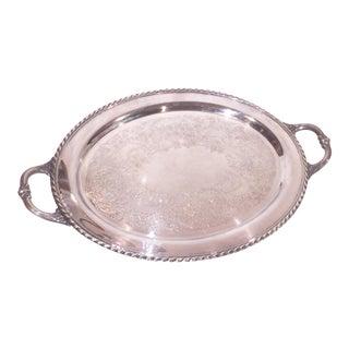 Silver Oval Tray
