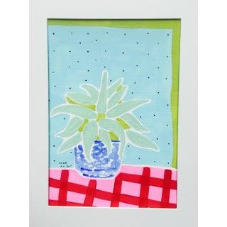 """Aloe"" Original Acrylic On Paper"