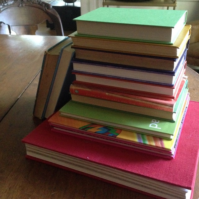 Brightly Colored Decorative Books - Set of 13 - Image 6 of 11