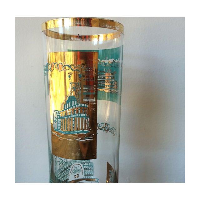 50s Mid Century Steamboat Highball Glasses - Set/8 - Image 6 of 7