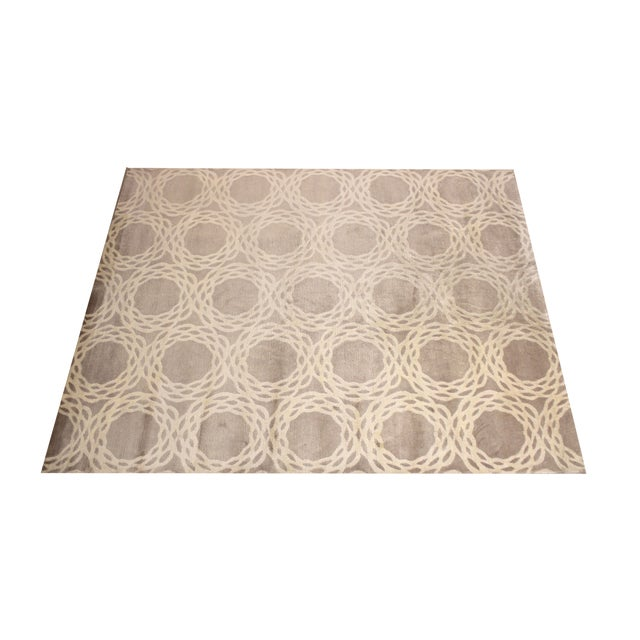 "Cococozy Tan ""Oxford"" Wool Rug - 8' x 11' - Image 2 of 9"