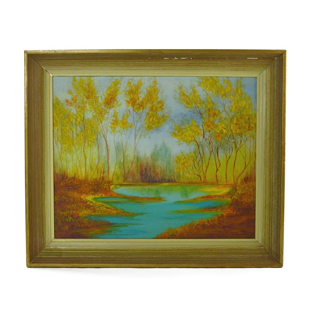 Image of Mid-Century Landscape Painting