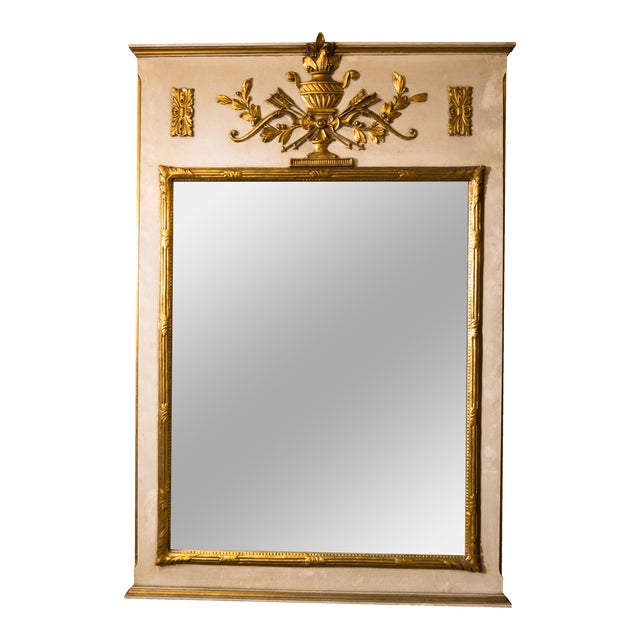 Image of French Neoclassical Trumeau Mirror