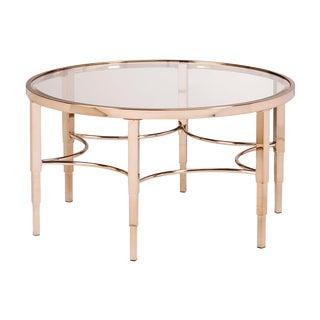 Gold Art Deco Table
