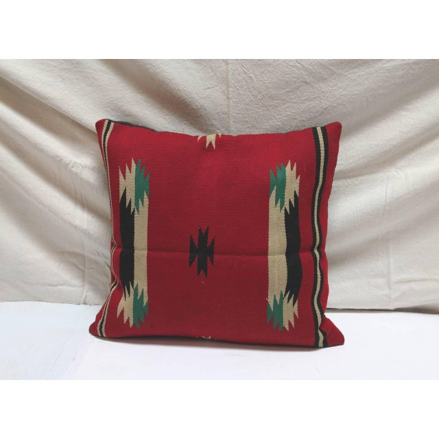 Group of Three Rare Germantown Indian Weaving Pillows - Image 5 of 7