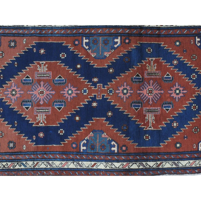 """Leon Banilivi Antique Kuba rug - 3'5"""" x 5'8"""" - Image 3 of 4"""