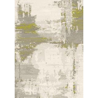 Green Abstract Rug - 5′3″ × 7′8″