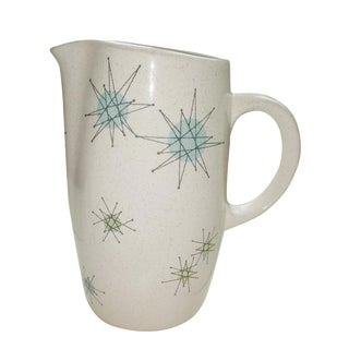 Franciscan Starburst Pitcher