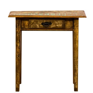 Rustic Reclaimed Solid Wood Console Table