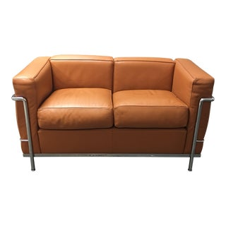 Le Corbusier Leather Two Seater