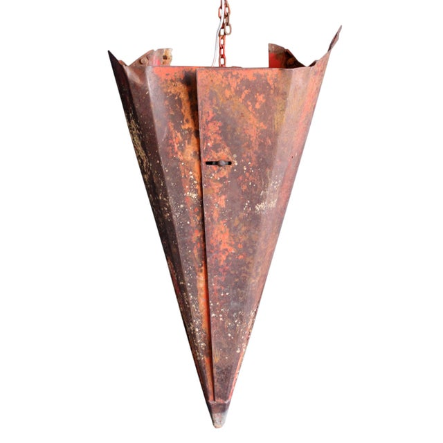 Image of Salvaged Tractor Combine Sconce IV