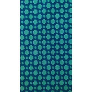 Contemporary Schumacher Cotten Woven Fabric