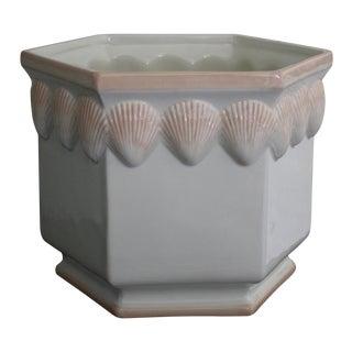 Palm Beach Clam Shell Planter