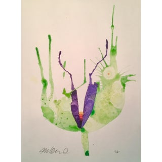 Rainbow Botanical Watercolor Painting