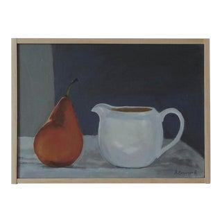 'Pear & Creamer' Still Life Painting