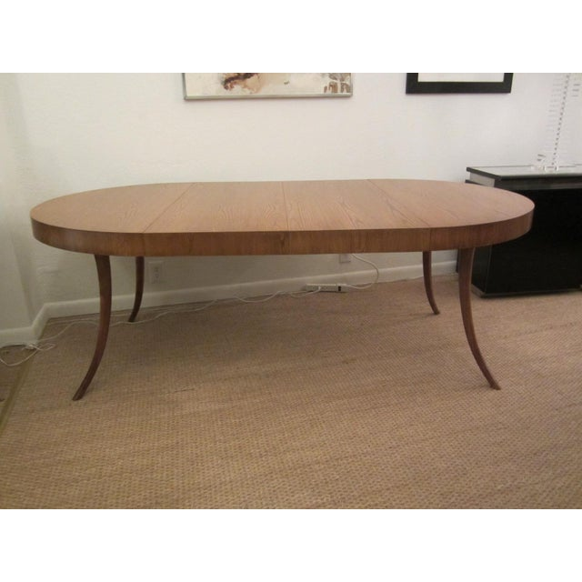 Robsjohn-Gibbings Walnut Extension Dining Table - Image 3 of 7