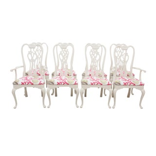 Thomasville Queen Anne Chairs - Set of 8