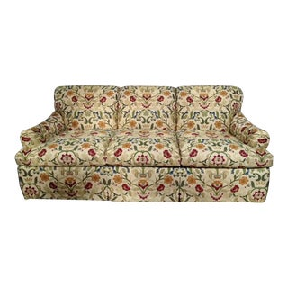 Portuguese Tapestry Upholstered Willis Sofa