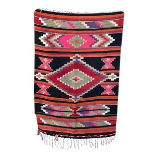 Vintage Handmade Kilim Rug - 2′10'' × 4′