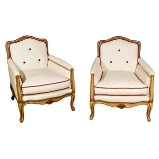 French Bergères by Maison Jansen - A Pair